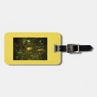 Das gelbe Blatt Kofferanhänger