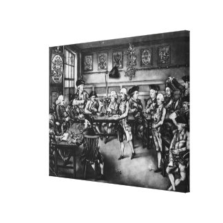 Das Gericht des Eigenkapitals oder der geselligen  Gespannte Galeriedrucke