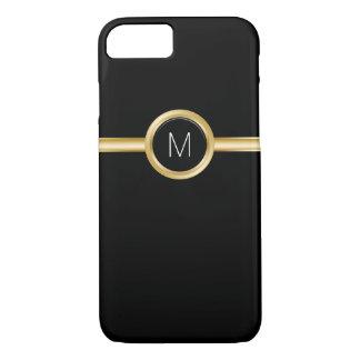 Das Geschäfts-Monogramm-Fall der Luxusmänner iPhone 8/7 Hülle