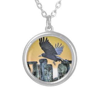 Das Geschenk alter Stonehenge u. Turm Personalisierte Halskette