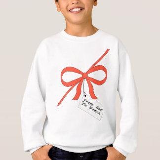 Das Geschenk des Gottes zum Frauen-T-Stück Sweatshirt