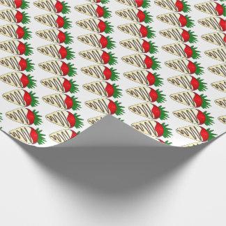 Das Geschenk-Verpackung des weißen Geschenkpapier