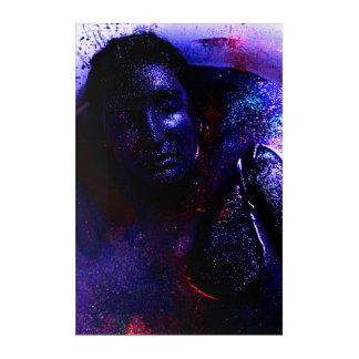 Das Gesicht der Galaxie Acryl Wandkunst
