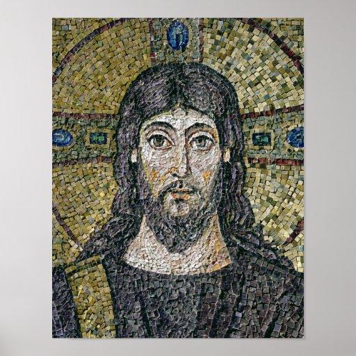 Das Gesicht von Christus Posterdruck