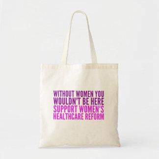 Das Gesundheitswesen-Reform der Stützfrauen Tragetasche