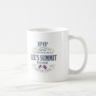 Das Gipfel des Lees, 150. Jahrestags-Tasse Kaffeetasse