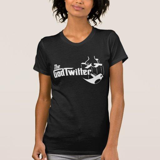 Das GodTwitter - Damen, dunkel T-Shirt