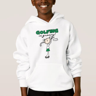 Das Golf spielen ist starke T-Shirts und Geschenke