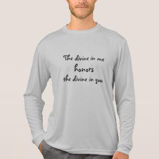 Das göttliche in mir Ehren, die die göttlichen in T-Shirt