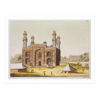 Das Grab des Mughal Kaisers Akbar, von 'Le Lattich Postkarte