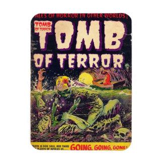 Das Grab des Terror-gehenden Gehens gegangen Magnet