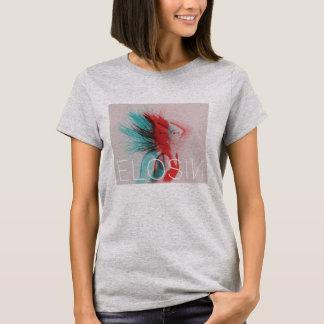Das graue ELOSIN der Frauen Zwei-Tonte Shirt