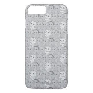 Das graue Muster des Chef-Baby-| iPhone 8 Plus/7 Plus Hülle