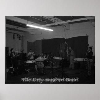 Das graue Sanford Band Plakatdrucke