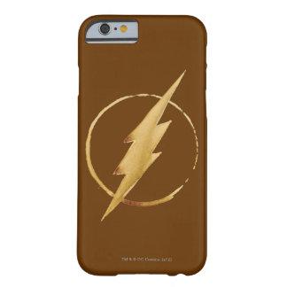Das grelle | gelbe Kasten-Emblem Barely There iPhone 6 Hülle