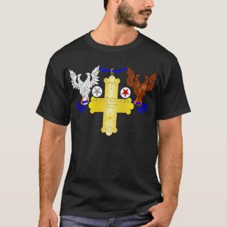 Das großartige Rosen-Kreuz T-Shirt
