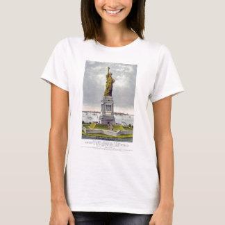 Das große Bartholdi Freiheitsstatue Currie Ives T-Shirt