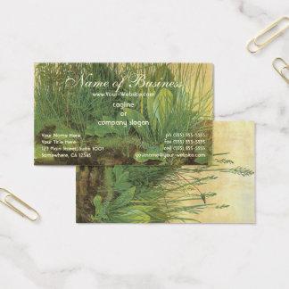 Das große (große) Stück des Rasens durch Albrecht Visitenkarte