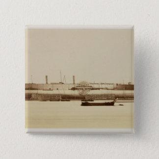 Das große Ost, am 17. November 1857 (Albumen pri Quadratischer Button 5,1 Cm