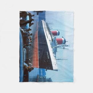 Das große Schiff:  SS Vereinigte Staaten Fleecedecke