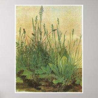 Das große Stück von Rasen 1503 Plakat