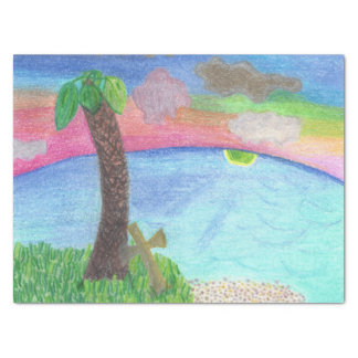 Das größeres Ufer-inspirierend Geschenk-Gewebe Seidenpapier
