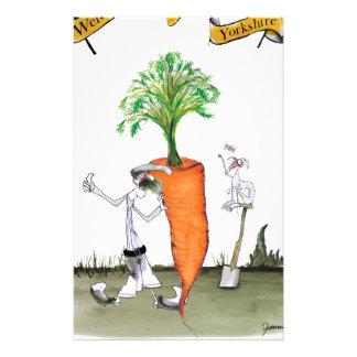Das größte carrot Liebe-Yorkshire'Welt Briefpapier