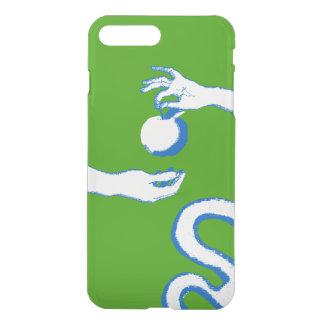 Das Grün Garten Eden-Skizze-Apples Adam Eve iPhone 8 Plus/7 Plus Hülle