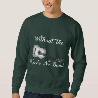Das grundlegende dunkle Sweatshirt der