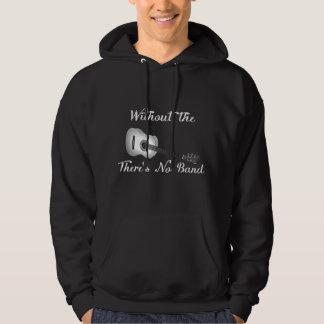 Das grundlegende mit Kapuze dunkle Sweatshirt der