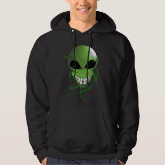 Das grundlegende mit Kapuze Sweatshirt grüner