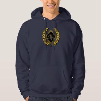 Das grundlegende mit Kapuze Sweatshirt Männer