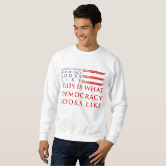 Das grundlegende Sweatshirt der Demokratie-Männer