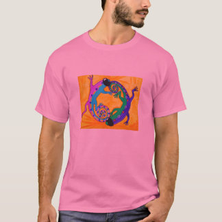 Das grundlegende T-Shirt der Männer - starke
