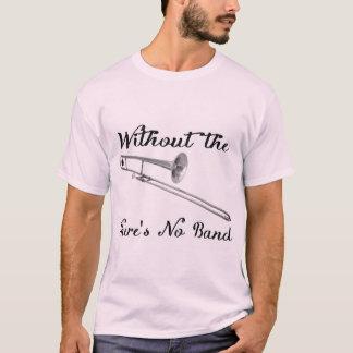 Das grundlegende T-Stück der Trombone-Männer T-Shirt