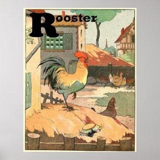 Das Hahnstorybook-Alphabet Poster