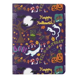 Das Halloween der Diva-Dackel Extra Großes Moleskine Notizbuch