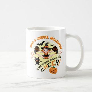 Das Halloween-Tasse der Cheerleader Kaffeetasse