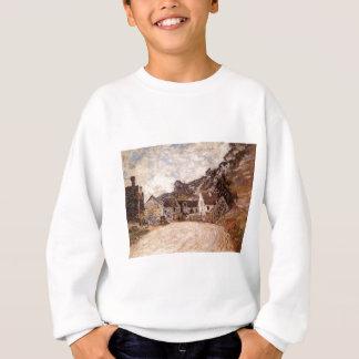 Das Hamlet von Chantemesie am Fuß des Felsens Sweatshirt