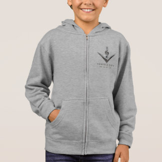 Das Hanes ComfortBlend® VCM-Kinder ZipHoodie Hoodie