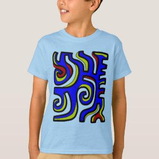 """Das Hanes TAGLESS® """"der Wunder-"""" Kinder T - Shirt"""