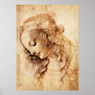 Das Hauptplakat Da Vinci-Frau Poster