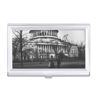 Das Hauptstadts-Gebäude in Washington DC Visitenkarten Etui