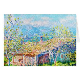 Das Haus des Gärtners in Antibes Claude Monet Karte