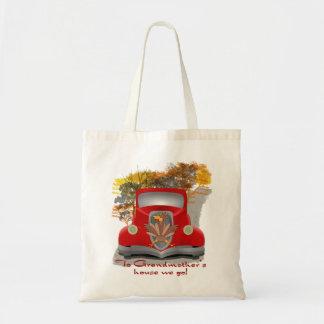 Das Haus-Feiertags-Tasche der Großmutter