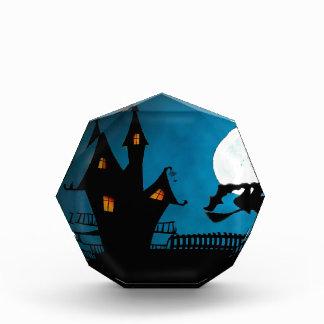 Das Haus Hexe Halloweens Helloween die Hexe Auszeichnung