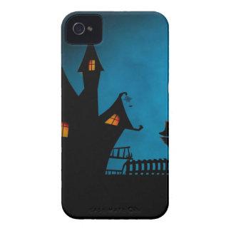 Das Haus Hexe Halloweens Helloween die Hexe iPhone 4 Case-Mate Hülle