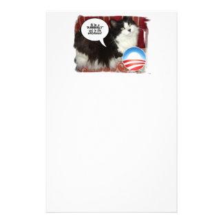 das Haus-Katze Briefpapier
