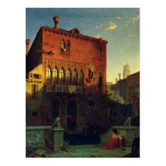 Das Haus von Othello, der Moore in Venedig, 1856 Postkarte