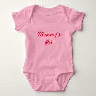 Das Haustier-niedliches entzückendes rosarotes Baby Strampler